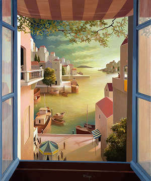 Discover the artist Michiel Schrijver and explore his paintings