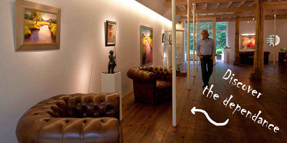 Visit the dependance of gallery Wildevuur and have a look inside