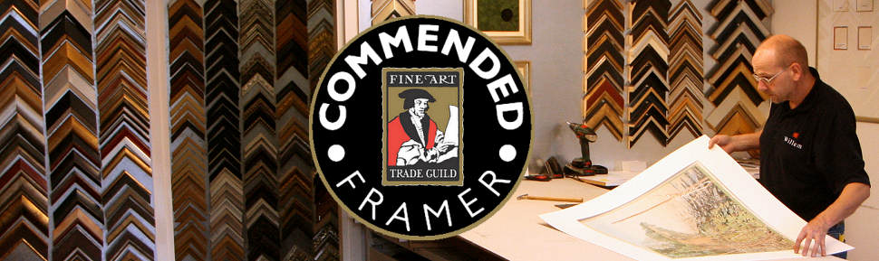 Lijstenmakerij Wildevuur is Guild Commended Framer gecertificeerd door het Worldwide Fine Art Trade Guild