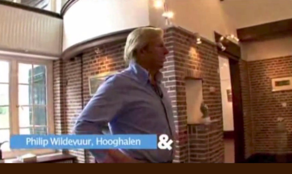 A private tour by Philip Wildevuur in the TV program Living & Co.
