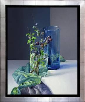 Schwarzdorn | Stilleben Gemälde von Adriana van Zoest kaufen Sie jetzt online! ✓Höchste Qualität ✓Sichere Zahlung ✓Kostenloser Versand