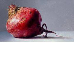 Small beet | still life painting in oil by Adriana van Zoest now for sale online! ✓Highest quality & service ✓Safe payment ✓Free shipping