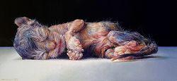 De pasgeborene   stilleven schilderij in olieverf van Adriana van Zoest   Exclusieve kunst online te koop bij Galerie Wildevuur