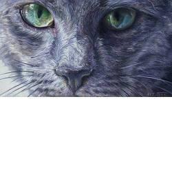 Anouchka | dieren schilderij in olieverf van Adriana van Zoest koopt u nu online! ✓Hoogste kwaliteit ✓Veilig betalen ✓Gratis verzending
