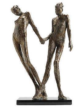Annemarijn | bronzen beeld van een vrouw van Anita Franken | Exclusieve kunst online te koop in de webshop van Galerie Wildevuur