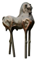 Leonardo 2 | animal sculpture in bronze by Anton ter Braak now for sale online! ✓Highest quality & service ✓Safe payment ✓Free shipping