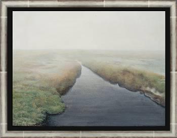 Mistig | stilleven schilderij in acrylverf van Chris Herenius | Exclusieve kunst online te koop in de webshop van Galerie Wildevuur