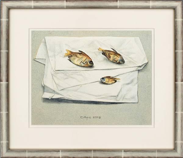 Drie visjes