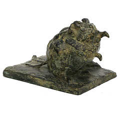Mice | animal sculpture in bronze by Coba Koster now for sale online! ✓Highest quality & service ✓Safe payment ✓Free shipping