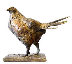 Grouse II | animal sculpture in bronze by Coba Koster now for sale online! ✓Highest quality & service ✓Safe payment ✓Free shipping
