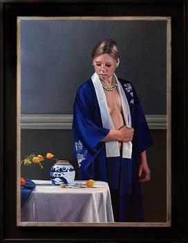 Souvenir de la Dordogne | model schilderij in olieverf van Dirk Bal koopt u nu online! ✓Hoogste kwaliteit ✓Veilig betalen ✓Gratis verzending
