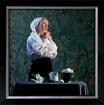 Memories | model schilderij in olieverf van Dirk Bal | Exclusieve kunst online te koop in de webshop van Galerie Wildevuur