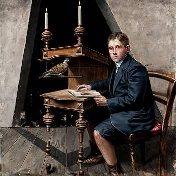 Unconfirmed experiment 12 | schilderij in olieverf van Eddy Stevens koopt u nu online! ✓Hoogste kwaliteit ✓Veilig betalen ✓Gratis verzending