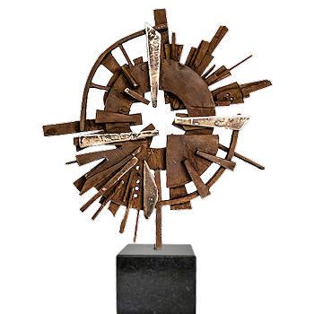 Bos van verlangen | bronzen beeld met vormen uit de natuur van Ernest Joachim koopt u nu online! ✓Veilig betalen ✓Gratis verzending