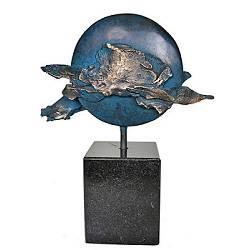 Blue Moon | natur Skulptur in Bronze von Ernest Joachim kaufen Sie jetzt online!Höchste QualitätSichere ZahlungKostenloser Versand