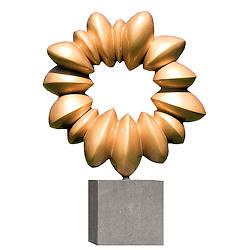Sieraad tussen de vormen | natuur beeld in brons van Ernest Joachim koopt u nu online!Veilig betalenGratis verzending
