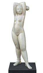 Eve | model sculpture in bronze by Erwin Meijer | Exclusive Dutch Master Art | View and buy the best artworks online now