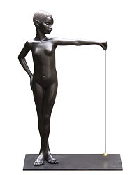 Perpendicular | model sculpture in bronze by Erwin Meijer | Exclusive Dutch Master Art | View and buy the best artworks online now