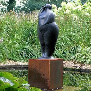 Marjolein fontein | bronzen vijverbeeld van Evert van Hemert koopt u nu online! ✓Hoogste kwaliteit & service ✓Veilig betalen ✓Gratis verzending