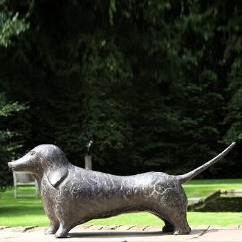 Quispel | dieren beeld in brons van Evert van Hemert koopt u nu online! ✓Hoogste kwaliteit & service ✓Veilig betalen ✓Gratis verzending