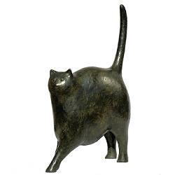 Friends | animal sculpture in bronze by Evert van Hemert now for sale online! ✓Highest quality & service ✓Safe payment ✓Free shipping
