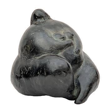 Dolly | bronzen model beeld van Evert van Hemert | Exclusieve kunst online te koop in de webshop van Galerie Wildevuur