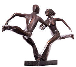 Go together klein | model sculpture in bronze by Frans van Straaten now for sale online! ?Highest quality & service ?Safe payment ?Free shipping
