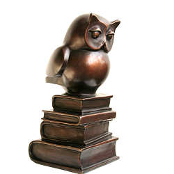 Wisdom VIII | animal sculpture in bronze by Frans van Straaten now for sale online! ✓Highest quality & service ✓Safe payment ✓Free shipping