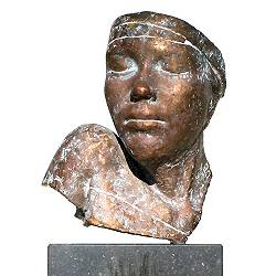 Bust | model sculpture in bronze by Gerard Engels now for sale online! ✓Highest quality & service ✓Safe payment ✓Free shipping