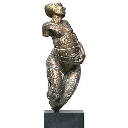 Pregnant | bronze model sculpture by Gerard Engels | View and buy the most e*clusive artworks online now