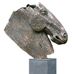 Horse head | bronze animal sculpture by Gerard Engels now for sale online! ?Highest quality ?Safe payment ?Free shipping