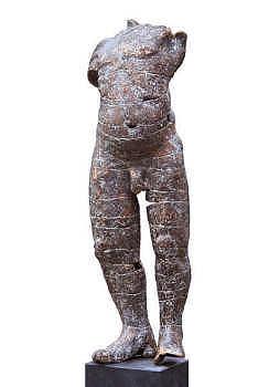 Tors man | bronzen beeld van een man van Gerard Engels | Exclusief kunstwerk online te koop in de webshop van Galerie Wildevuur
