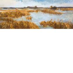 Dwingelderveld | landscape painting in oil by Gerard van de Weerd now for sale online! ?Highest quality & service ?Safe payment ?Free shipping