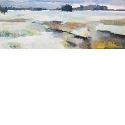 Vrieskou | landschap schilderij in olieverf van Gerard van de Weerd | Exclusieve kunst online te koop in de webshop van Galerie Wildevuur