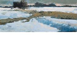 Winter morning | landscape painting in oil by Gerard van de Weerd now for sale online! ?Highest quality & service ?Safe payment ?Free shipping