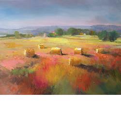 La musicienne | model schilderij in olieverf van Hans Musters | Exclusieve kunst online te koop in de webshop van Galerie Wildevuur