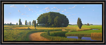 Links oder rechts | Landschaft Gemälde in Ölfarbe von Hans Parlevliet kaufen Sie jetzt online! ✓Höchste Qualität ✓Sichere Zahlung ✓Kostenloser Versand