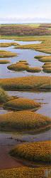 De kwelder | landschap schilderij in olieverf van Hans Parlevliet | Exclusieve kunst online te koop in de webshop van Galerie Wildevuur