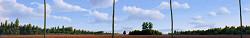 De akker | landschap schilderij in olieverf van Hans Parlevliet | Exclusieve kunst online te koop in de webshop van Galerie Wildevuur