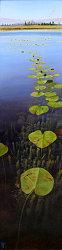 Onder de rook van de stad | landschap schilderij in olieverf van Hans Parlevliet | Exclusieve kunst online te koop bij Galerie Wildevuur