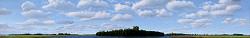 Wijds | landschap schilderij in olieverf van Hans Parlevliet | Exclusieve kunst online te koop in de webshop van Galerie Wildevuur