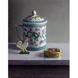 Stilleben met Rosen | Stilleben Gemälde in Ölfarbe von Herman Tulp kaufen Sie jetzt online! ✓Höchste Qualität ✓Sichere Zahlung ✓Kostenloser Versand
