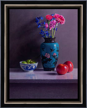 Happy past | still-life painting in oil by Herman Tulp now for sale online! ✓Highest quality & service ✓Safe payment ✓Free shipping