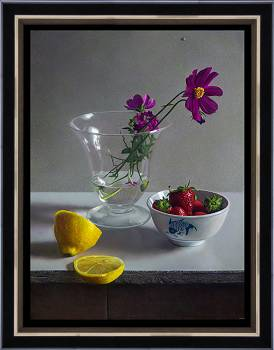Morning light | still-life painting in oil by Herman Tulp now for sale online! ✓Highest quality & service ✓Safe payment ✓Free shipping