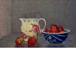 Spring breakfast | still life painting in oil by Herman Tulpnow for sale online! ✓Highest quality & service ✓Safe payment ✓Free shipping