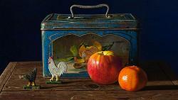 The walk of life I | stilleven schilderij in olieverf van Herman Tulp | Exclusieve kunst online te koop in de webshop van Galerie Wildevuur