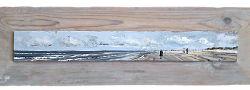 Lentelicht 1 | zeegezicht schilderij in olieverf van Herman van Hoogdalem | Exclusieve kunst online te koop in de webshop van Galerie Wildevuur