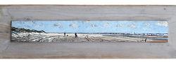 Lentelicht 2 | zeegezicht schilderij in olieverf van Herman van Hoogdalem | Exclusieve kunst online te koop in de webshop van Galerie Wildevuur