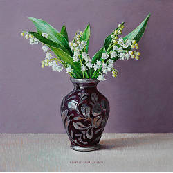 Currants in China cup | still life painting in oil by Ingrid Smuling now for sale online! ✓Highest quality & service ✓Safe payment ✓Free shipping