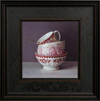 Mohnblumen   Stilleben Gemälde in Ölfarbe von Ingrid Smuling kaufen Sie jetzt online! ✓Höchste Qualität ✓Sichere Zahlung ✓Kostenloser Versand